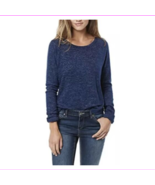Buffalo David Bitton Women's Soft Cozy Crew Neck Long Sleeve  Blue S - $6.94