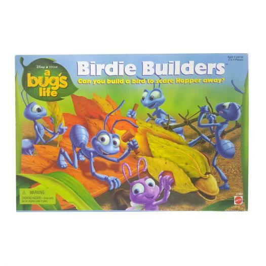 Primary image for A Bugs Life Birdie Builders Board Game by Mattel