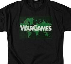 War Games t-shirt retro 80s Movie Brat Pack 100% cotton graphic tee MGM309 image 2