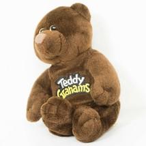 "Teddy Grahams Chunky Chocolate Bear Plush 7"" Brown Stuffed Animal Toy - $11.77"