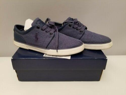 Polo Ralph Lauren Faxon Low Men's Navy Sneaker's 11.5 D with Box