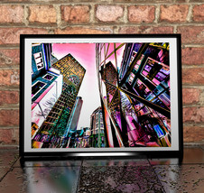 Cityscape building reflections Painting Giclée ... - $11.99 - $49.99