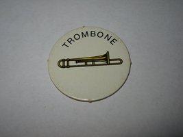 1983 Scavenger Hunt Board Game Piece: Trombone Circle Tab - $1.00