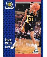 Reggie Miller ~ 1991-92 Fleer #83 ~ Pacers - $0.05
