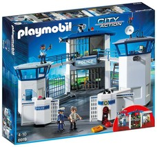 Playmobil 6919 City Action Police Headquarters With Prison - $105.84