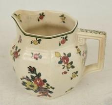 Royal Doulton England Old Leeds Spray Creamer Pot Milk Pitcher D3548 - $39.50