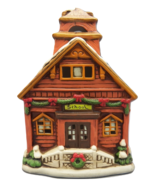 Lefton Colonial Village Lil Red Schoolhouse 05821 Lighted Christmas Buil... - $19.24