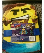Franco The Lego Movie 2 Hooded Bath Towel Wrap - New Kids 24in x 50in - $11.87