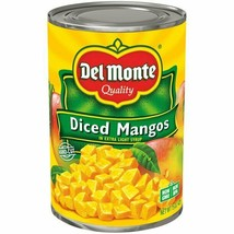 Del Monte Diced Mangos in Extra Light Syrup 15oz cans pack of 6 - $37.99