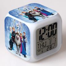 Anna and Elsa Frozen #05 Led Alarm Clock Figures LED Alarm Clock - $25.00