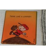 1950 VINTAGE UNITED FEATURES PEANUTS CHARLIE BROWN SCHULTZ HALLMARK GREE... - $9.08