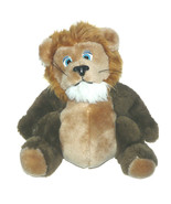 VTG Nanco Lion Tiger Plush Blue Eyes Big Belly 10 inch Stuffed Animal Lo... - $26.61