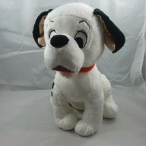 "Disney Store 101 Dalmations Movie  14"" Plush Dog Red Collar FREE SHIPPING - $19.95"