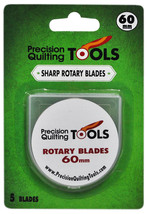 Precision Quilting Tools 60mm Rotary Blade 5 Count - $28.47