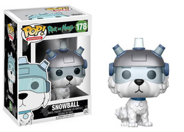 Rick and Morty TV Series Snowball the Dog Vinyl POP! Figure Toy #178 FUN... - $12.55