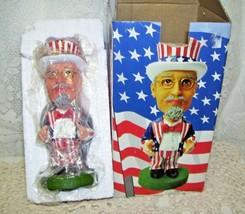 Vintage Bobble Head Uncle Sam Nodder MIB - $33.65