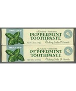 Trader Joe's All Natural Anticavity Peppermint Toothpaste with Baking Soda - $14.84