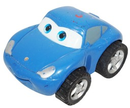 """Sally From Disney Pixar Cars - Toy Pull Back 3"""" Blue Porsche Figure Used - $9.88"""