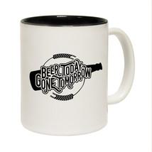 Funny Mugs - Beer Today - Joke Birthday Gift Birthday Pun NOVELTY MUG - $8.36