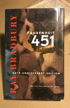 Ray Bradbury - Fahrenheit 451 signed 40th anniversary 1st edition 2nd pr... - $186.20