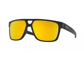 Oakley Crossrange Patch sunglasses Matte Blck 24K Iridium OO9382-2360 Au... - $151.47