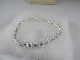 Swarovski Crystal Silver Tennis Bracelet - $14.24