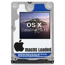 macOS Mac OS X 10.15 Catalina Preloaded on Sata HDD - $14.99+
