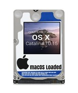 macOS Mac OS X 10.15 Catalina Preloaded on Sata HDD - $14.99+