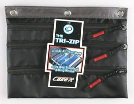 Case-It Black 3-Ring Binder Zipper Pen Pencil Marker Case School Supplies  image 1