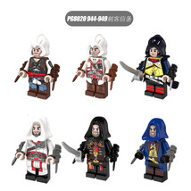PG8020 Assassin's Creed 6pcs Fit Lego Firenze Dorian Cormac Kenway with ... - $18.99