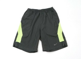 """Vintage Nike Dri-Fit Mens Small 9"""" Unlined Color Block Running Jogging S... - $34.60"""