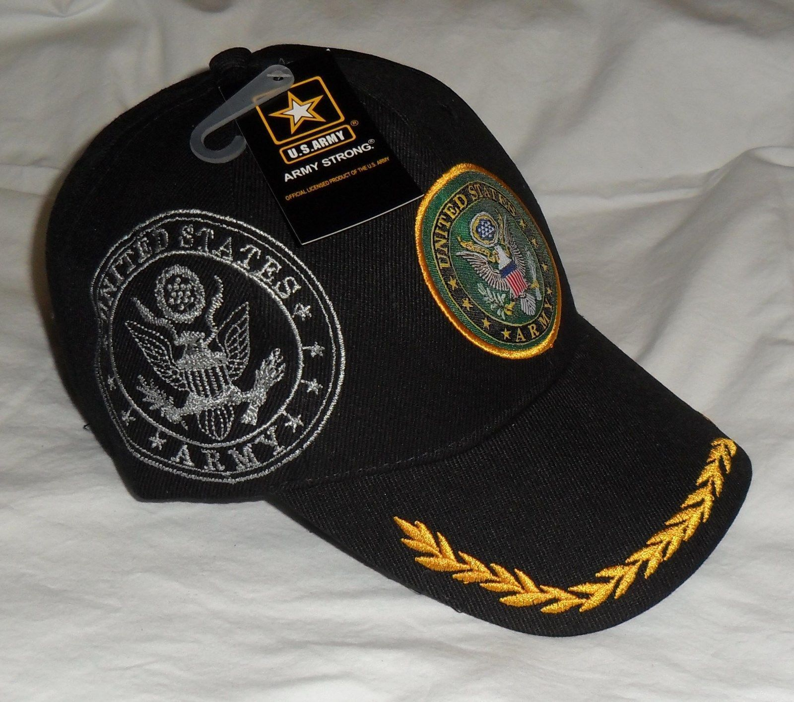 United States Army Shadow Cap OFFICIALLY LICENSED With Seal Baseball Cap Hat