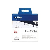 Brother DK-22214 - Thermal paper - white - Roll (1.2 cm x 30.5 m)  - $31.00
