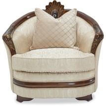 Michael Amini 9051835-PEARL-202 Bella Veneto Matching Chair, Cognac - €1.279,92 EUR