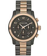Michael Kors Runway Chronograph Two-tone Unisex Watch MK8189 - $87.05
