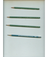 4 artists' pencils EAGLE M4 Filmograph/2 AW FABER Filmar Dri-Line 1910 F... - $5.00