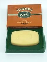 Hermes Paris Eau de Cologne Savon Bath Soap .8oz (24g) in Green Plastic ... - $19.79