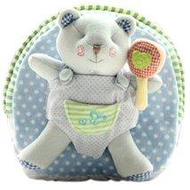 Cute Infant Knapsack Lovely Baby Bag Toddler Mini Backpack Blue Bear 1-4Y image 1