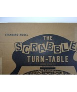Rare Early M-K Enterprises The Scrabble Turn-Table Patents Applied For - $98.00
