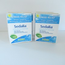4 Boxes 60 Tablets Boiron Sedalia Homeopathic Medicine Stress Relief All... - $45.80