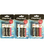 Chap Stick Lip Care - Variety Package - 1x Classic Medicated 1x Classic ... - $19.99