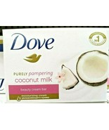 3pack Dove coconut Milk Face and Body Soap 135 Grams each (135g x 3 = 405g) - $14.85