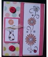 "Valentine's Day Card-Handcrafted,Handmade;ENVELOPE;CELLOPHANE SLEEVE;4¼""... - $9.99"