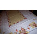 Vintage kitchen vintage tablecloth - $23.00
