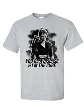 Cobra T-shirt sylvester stallone retro movie film 1980s cotton blend graphic tee image 2