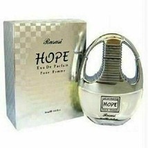 Hope By Rasasi 50 ML Eau De Parfum Spray Pour Femme  New in Sealed Box - $18.76