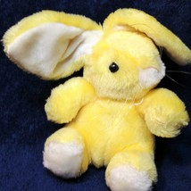"Commonwealth Yellow Bunny Rabbit Lop Eared Plush Stuffed Furry Animal 6"" - $19.99"