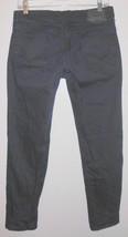LEVI 511 Jeans Sz 30 Men Skinny Stretch Black Tab Dark Blue Denim Mid Rise - $31.18