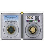 "2001 AUSTRALIA $1 DOLLAR PCGS PR67DCAM ""CENTENARY-COLORIZED"" COIN IN HIG... - €33,20 EUR"