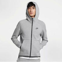 Nike Men's Tech Fleece Full-Zip Hoodie NEW AUTHENTIC Grey 928483-063 SZ:XL - $109.49